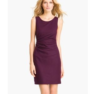 THEORY Meily K Victorious Wool Dress Brown Color Sz 2,6,8 NWT $335